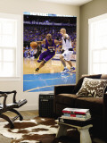 Los Angeles Lakers v Dallas Mavericks - Game Three, Dallas, TX - MAY 6: Kobe Bryant and Jason Kidd Wall Mural by Noah Graham