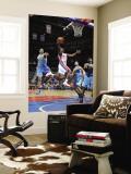 New Orleans Hornets v Detroit Pistons: Ben Gordon and Trevor Ariza Wall Mural by Allen Einstein