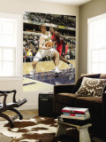 Toronto Raptors v Indiana Pacers: Tyler Hansbrough and Joey Dorsey Wall Mural by Ron Hoskins