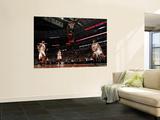 Miami Heat v Chicago Bulls - Game Two, Chicago, IL - MAY 18: Dwyane Wade Vægplakat af Jonathan Daniel