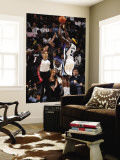 Miami Heat v Memphis Grizzlies: Zach Randolph and Chris Bosh Wall Mural by Joe Murphy