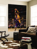 Sacramento Kings v Los Angeles Lakers: Kobe Bryant and Luther Head Wall Mural by Noah Graham