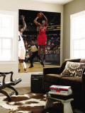 New Jersey Nets v Sacramento Kings: Travis Outlaw Wall Mural by Don Smith