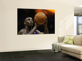 Los Angeles Lakers v Milwaukee Bucks: Kobe Bryant Wall Mural by Jonathan Daniel