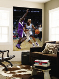Sacramento Kings v New Orleans Hornets: Jarrett Jack and Eugene Jeter Wall Mural by Chris Graythen
