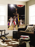 Los Angeles Lakers v Toronto Raptors: Andrew Bynum and Joey Dorsey Wall Mural by Ron Turenne