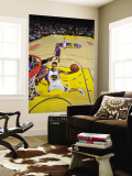 New York Knicks v Golden State Warriors: Stephen Curry Wall Mural by Rocky Widner