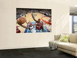 Portland Trail Blazers v Dallas Mavericks - Game OneDallas, TX - APRIL 16: Jason Terry, Gerald Wall Wall Mural by Glenn James