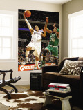 Boston Celtics v Charlotte Bobcats: Paul Pierce and D.J. Augustin Wall Mural by Kent Smith
