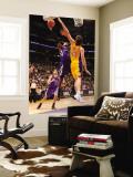 Sacramento Kings v Los Angeles Lakers: Jason Thompson and Pau Gasol Wall Mural by Andrew Bernstein