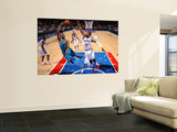 New Orleans Hornets v Philadelphia 76ers: Jarrett Jack and Marreese Speights Wall Mural by David Dow