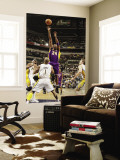 Los Angeles Lakers v Indiana Pacers: Kobe Bryant and Dahntay Jones Wall Mural by Ron Hoskins