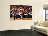 Charlotte Bobcats v Miami Heat: Eddie House Wall Mural by Andrew Bernstein