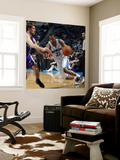 Sacramento Kings v New Orleans Hornets: Willie Green and Beno Udrih Wall Mural by Layne Murdoch