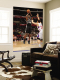 San Antonio Spurs v Los Angeles Clippers: Antonio McDyess and Blake Griffin Wall Mural by Andrew Bernstein