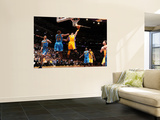 New Orleans Hornets v Los Angeles Lakers - Game Five, Los Angeles, CA - April 26: Kobe Bryant and C Wall Mural