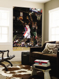 Milwaukee Bucks v Detroit Pistons: Rodney Stuckey and Larry Sanders Wall Mural by Allen Einstein