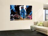Dallas Mavericks v New Orleans Hornets: Chris Paul Wall Mural by Layne Murdoch