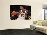 Indiana Pacers v Los Angeles Lakers: Danny Granger and Kobe Bryant Wall Mural by Jeff Gross