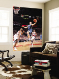 Minnesota Timberwolves v Portland Trail Blazers: Marcus Camby and Luke Ridnour Wall Mural by Sam Forencich