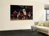 Miami Heat v Chicago Bulls - Game Two, Chicago, IL - MAY 18: Derrick Rose and Mike Miller Wall Mural by Jonathan Daniel