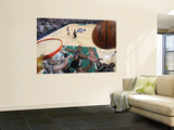 Oklahoma City Thunder v Utah Jazz: C.J. Miles Wall Mural by Melissa Majchrzak