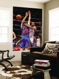 New York Knicks v Los Angeles Clippers: Brian Cook and Timofey Mozgov Wall Mural by Noah Graham