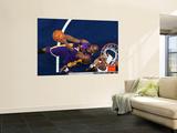 Los Angeles Lakers v Memphis Grizzlies: Kobe Bryant and Hasheem Thabeet Wall Mural by Joe Murphy