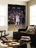 Los Angeles Lakers v Dallas Mavericks - Game Three, Dallas, TX - MAY 6: Jason Terry and Pau Gasol Wall Mural by Danny Bollinger