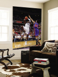 New York Knicks v Sacramento Kings: Tyreke Evans and Wilson Chandler Wall Mural by Rocky Widner