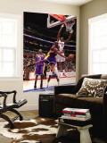 Los Angeles Lakers v Los Angeles Clippers: Kobe Bryant and Al-Farouq Aminu Wall Mural by Noah Graham