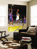 Detroit Pistons v Golden State Warriors: Ben Wallace and Dorell Wright Wall Mural by Rocky Widner