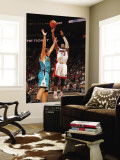 New Orleans Hornets v Miami Heat: Dwyane Wade and Marco Belinelli Wall Mural by Victor Baldizon