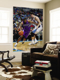 Sacramento Kings v New Orleans Hornets: Luther Head and Jason Smith Wall Mural by Chris Graythen