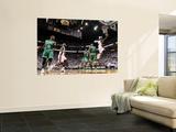 Boston Celtics v Miami Heat - Game Five, Miami, FL - MAY 11: Dwyane Wade and Glen Davis Wall Mural by Mike Ehrmann