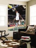 Milwaukee Bucks v Utah Jazz: Raja Bell and Ersan Ilyasova Wall Mural by Melissa Majchrzak