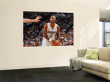 New Jersey Nets v Denver Nuggets: Chauncey Billups Wall Mural by Garrett Ellwood