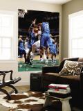 Orlando Magic v Utah Jazz: Gordon Hayward, Malik Allen and Dwight Howard Wall Mural by Melissa Majchrzak