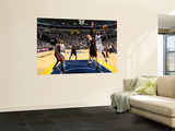 Miami Heat v Memphis Grizzlies: Zach Randolph and Zydrunas Ilgauskas Wall Mural by Joe Murphy