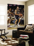 Memphis Grizzlies v Cleveland Cavaliers: Greivis Vasquez and Ramon Sessions Wall Mural by David Liam Kyle