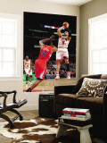 Los Angeles Clippers v Chicago Bulls: Carlos Boozer and DeAndre Jordan Wall Mural by Randy Belice