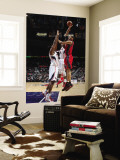 New Jersey Nets v Atlanta Hawks: Brook Lopez Wall Mural by Scott Cunningham