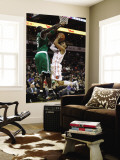 Boston Celtics v Charlotte Bobcats: Kevin Garnett and D.J. Augustin Wall Mural by  Streeter