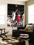 New Jersey Nets v Utah Jazz: Anthony Morrow and Ronnie Price Wall Mural by Melissa Majchrzak