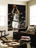 Atlanta Hawks v Boston Celtics: Luke Harangody Wall Mural by Elsa Unknown