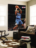 Minnesota Timberwolves v Chicago Bulls: Wesley Johnson and Keith Bogans Wall Mural by Ray Amati