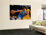 New Orleans Hornets v Los Angeles Lakers - Game Two, Los Angeles, CA - April 20: Trevor Ariza and R Wall Mural
