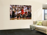 Chicago Bulls v Miami Heat - Game FourMiami, FL - MAY 24: LeBron James and Ronnie Brewer Wall Mural by Mike Ehrmann