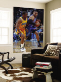 Oklahoma City Thunder v New Orleans Hornets: Russell Westbrook and Chris Paul Wall Mural by Layne Murdoch
