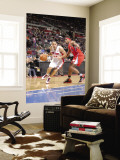 Los Angeles Clippers v Detroit Pistons: Tayshaun Prince and Ryan Gomes Wall Mural by Allen Einstein